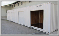 Neuer Selfstorage-Container